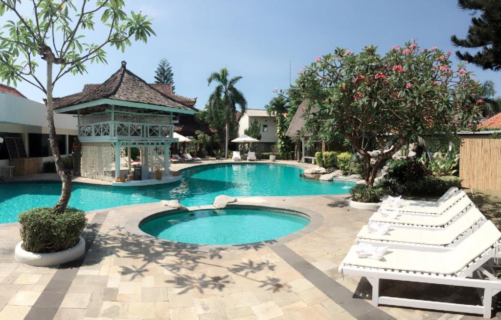 Kolam renang di atau di dekat Ananda Resort Seminyak