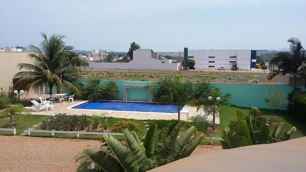 A view of the pool at Opuka Hotel or nearby