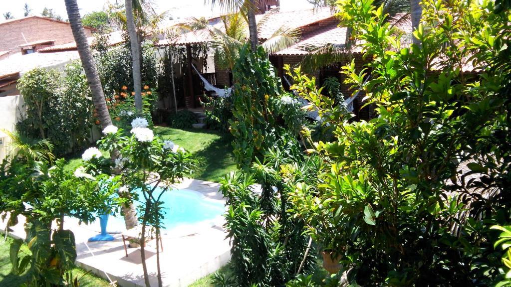 Vista sulla piscina di Butterfly House o su una piscina nei dintorni