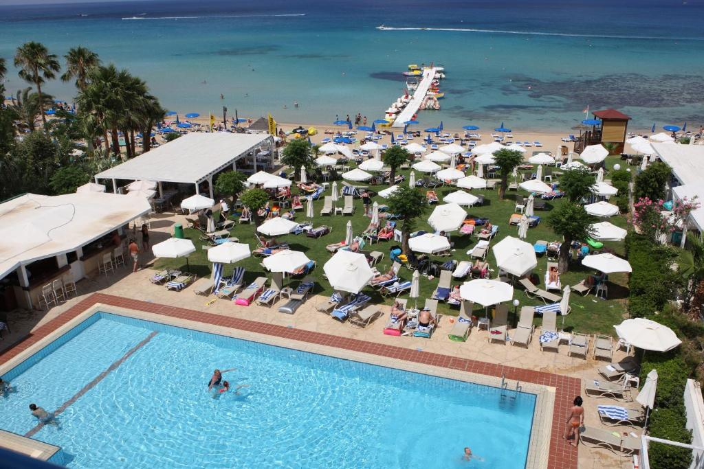 A view of the pool at Iliada Beach Hotel or nearby