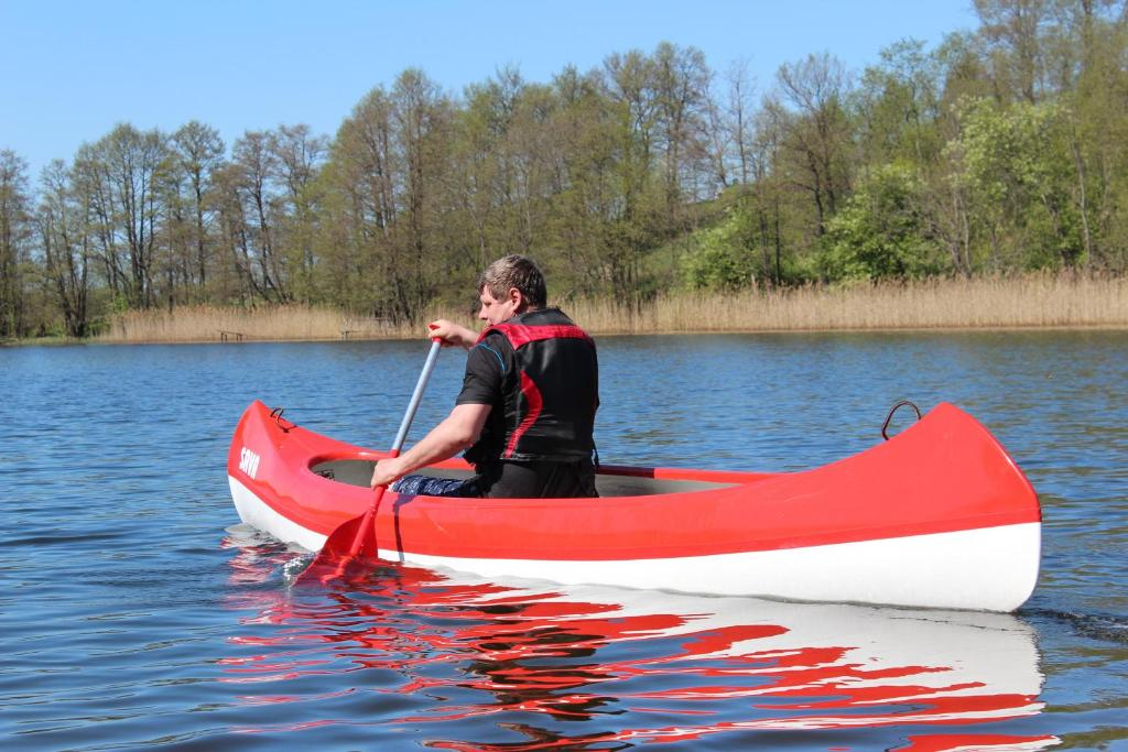 Canoeing at the hotel or nearby