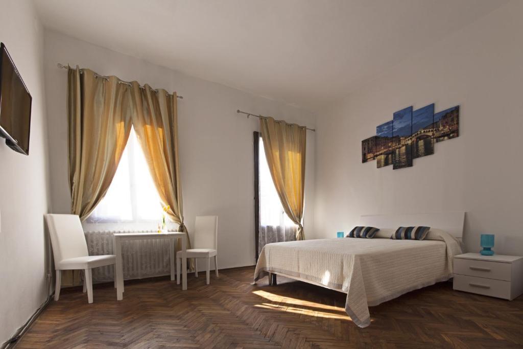 Cama o camas de una habitación en B&B Venezia Mestre