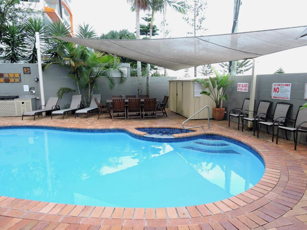 The swimming pool at or near Bayview Beach Holiday Apartments