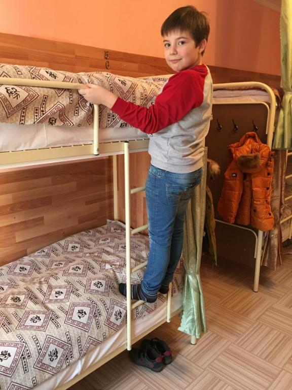Children staying at Hostel Vselennaya