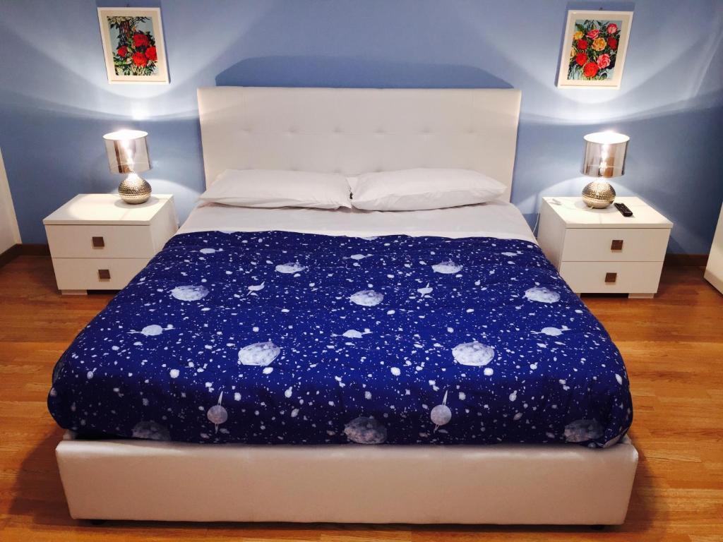 Cama ou camas em um quarto em B&B Le Stanze di Medea