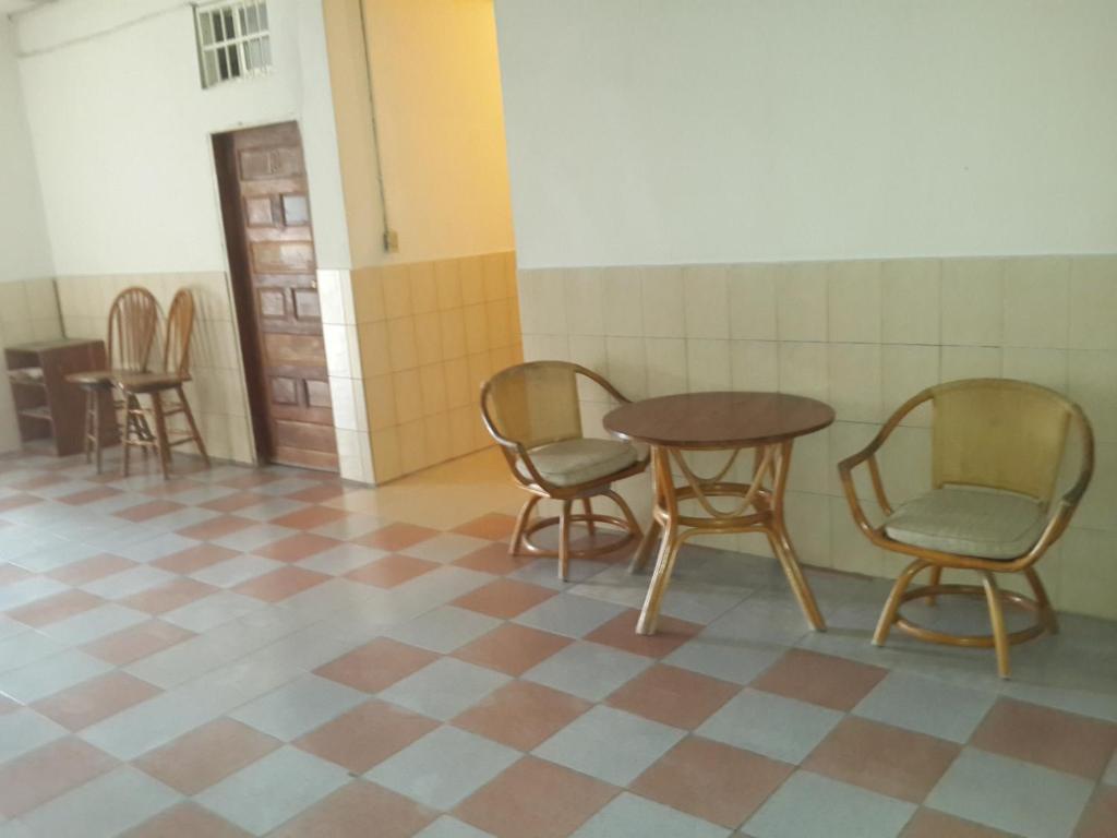 Istumisnurk majutusasutuses Akihito Hotel