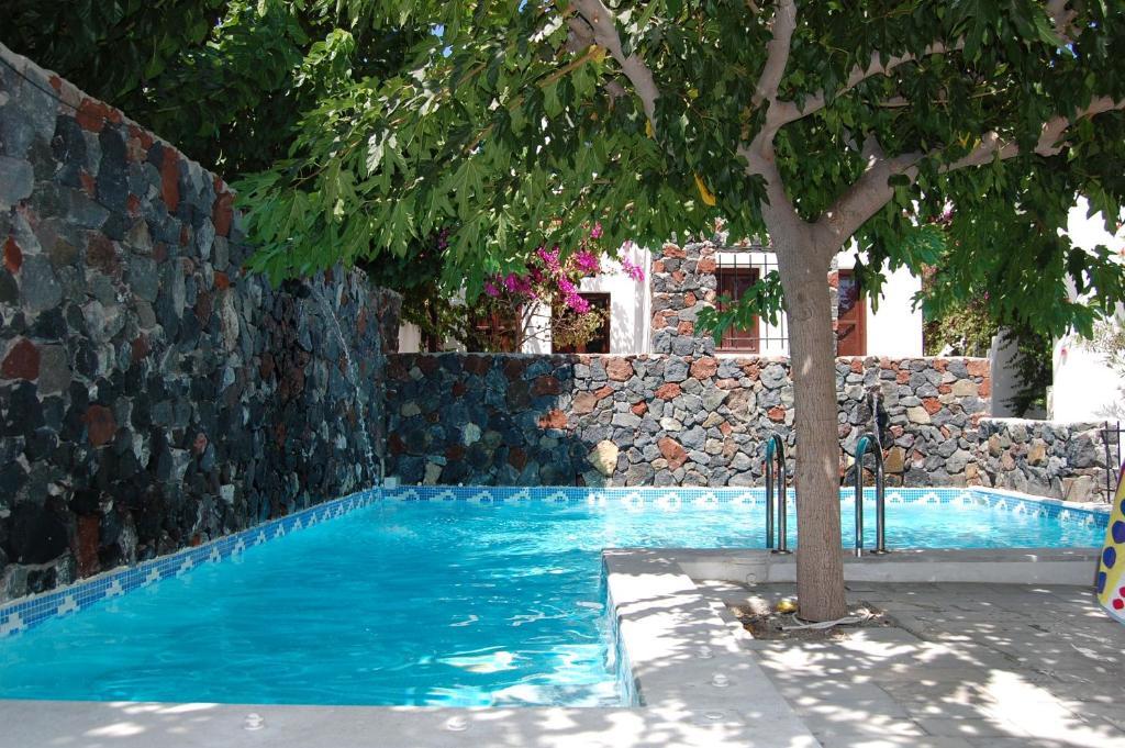 The swimming pool at or near Santorini Reflexions Sea