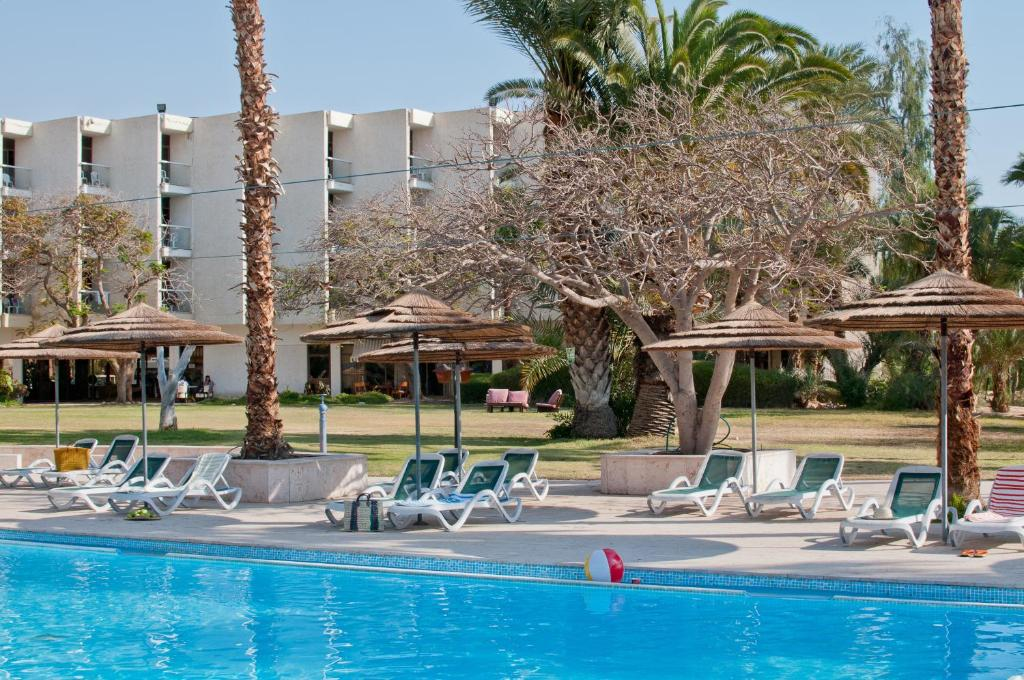 The swimming pool at or near Leonardo Inn Hotel Dead Sea