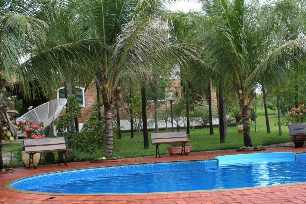 The swimming pool at or near Holiday House
