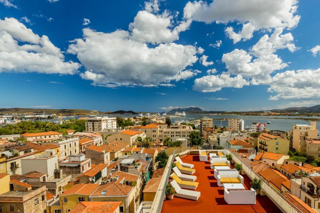 Hotel Panorama с высоты птичьего полета