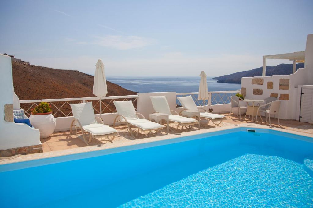 The swimming pool at or near Tholaria Boutique Hotel