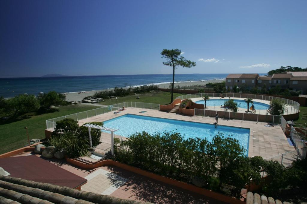 A view of the pool at Adonis Borgo - Résidence Cala Bianca or nearby
