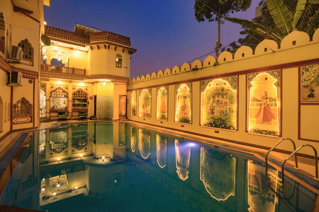 The swimming pool at or near Umaid Bhawan - Heritage Style Hotel