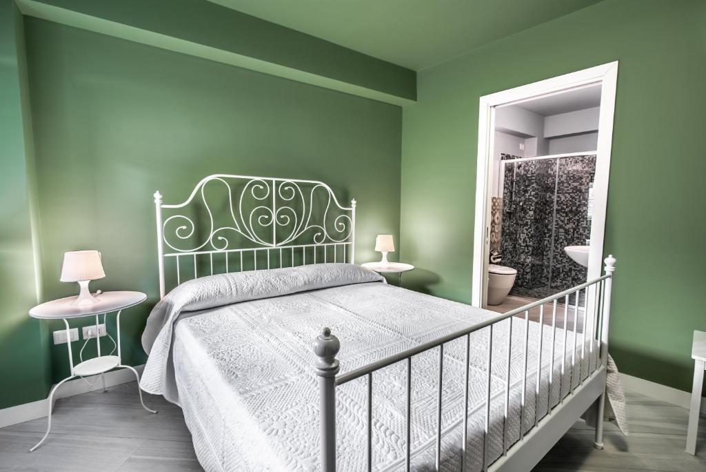 Residenza Cavourにあるベッド