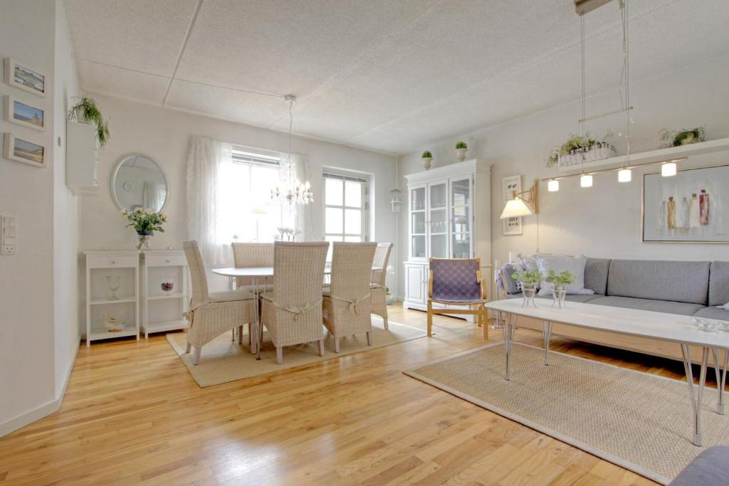 Et opholdsområde på Klitgården Apartment