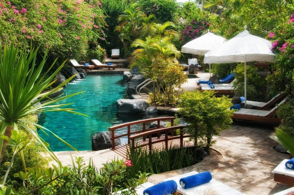 The swimming pool at or near Poppies Bali