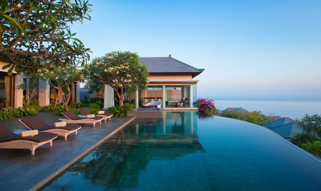The swimming pool at or near Banyan Tree Ungasan