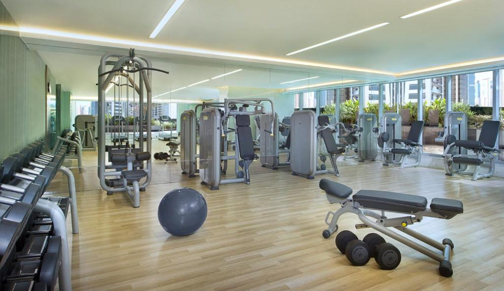 The fitness center and/or fitness facilities at Atana Hotel