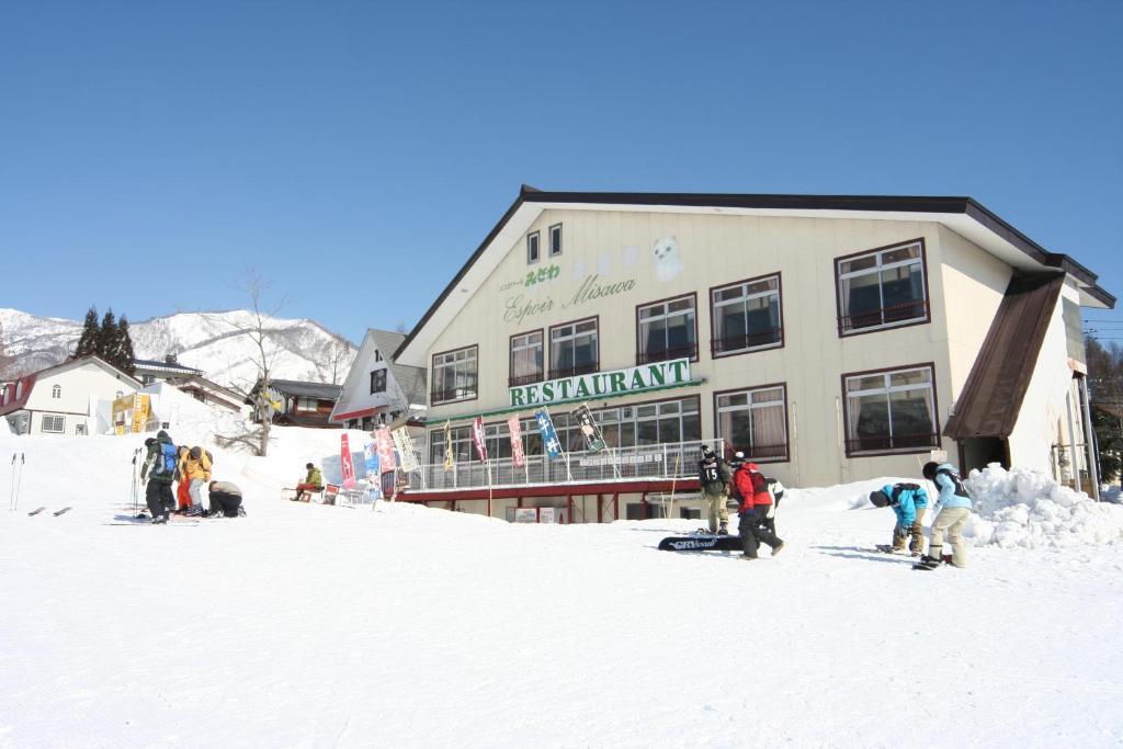 Espoir Misawa during the winter