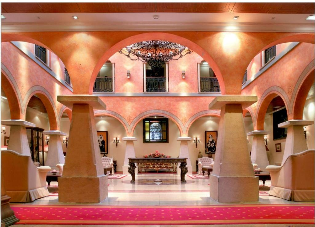 El vestíbulo o zona de recepción de Hotel Palacio de la Magdalena