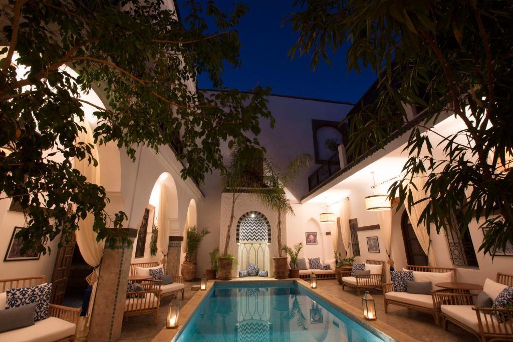 The swimming pool at or close to Riad Dar Alfarah
