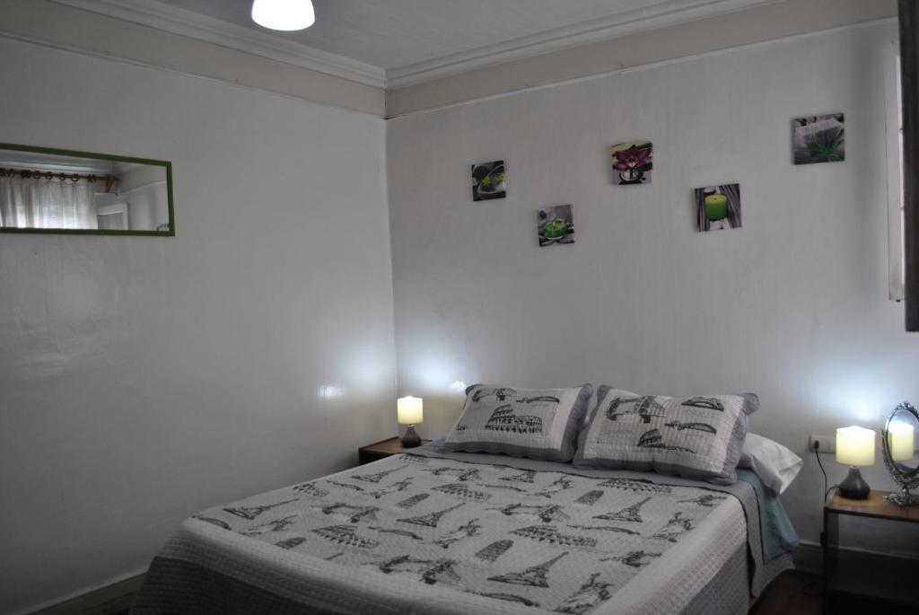 Un ou plusieurs lits dans un hébergement de l'établissement Hostel La Vitrola