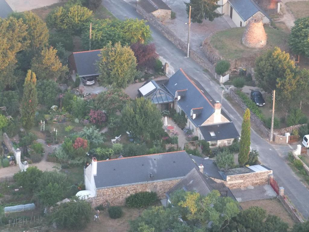 A bird's-eye view of Les Moulins Viaud
