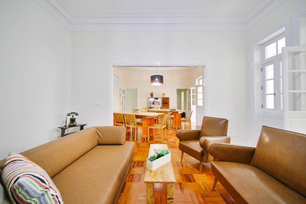 Zona de estar de StayIN Oporto Musica Guest Apartment