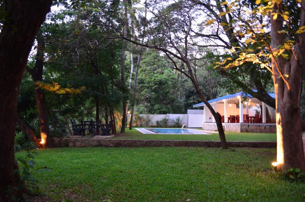 The swimming pool at or near Grand Kalundawa - Dambulla's Hidden Secret