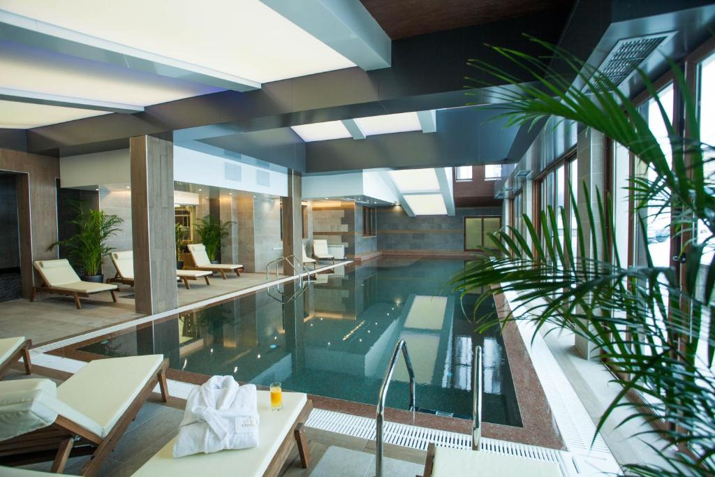 The swimming pool at or near Amira Boutique Hotel