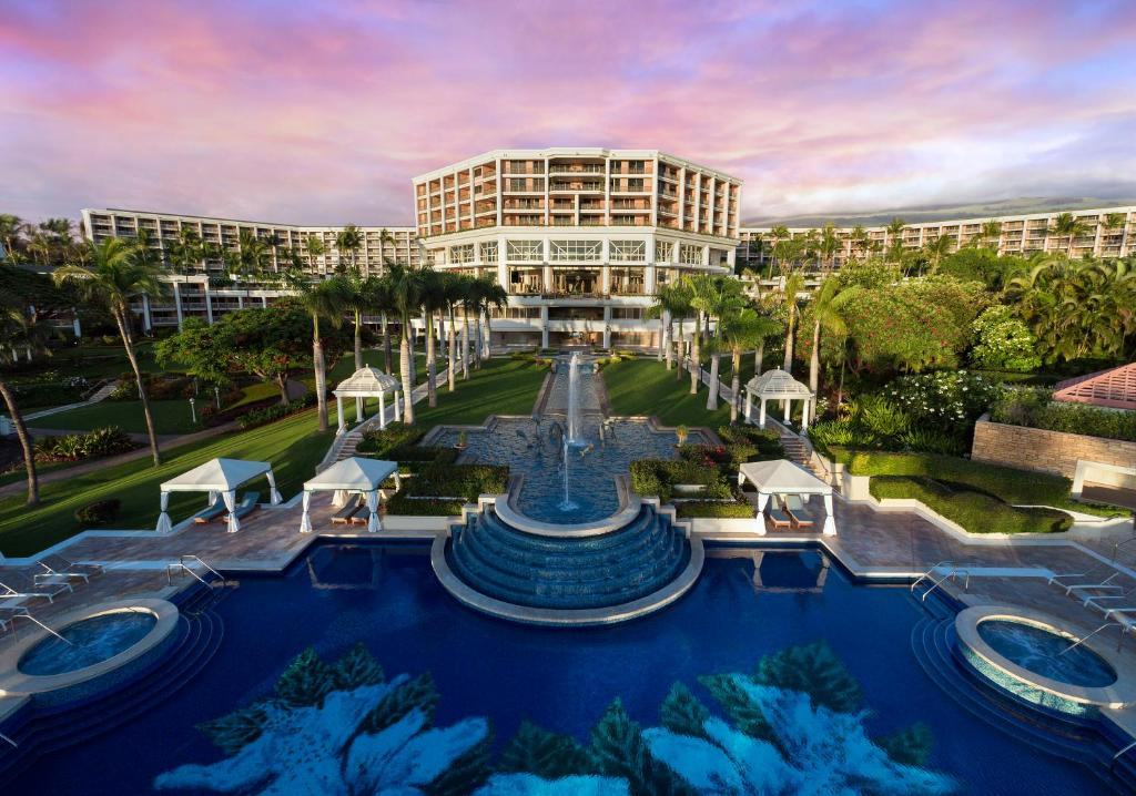 A view of the pool at Grand Wailea Resort Hotel & Spa, A Waldorf Astoria Resort or nearby