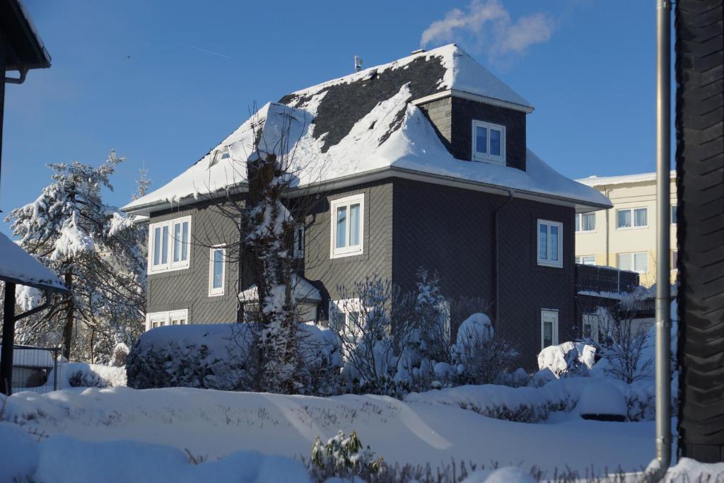 Apartment Johanna Oberhof im Winter