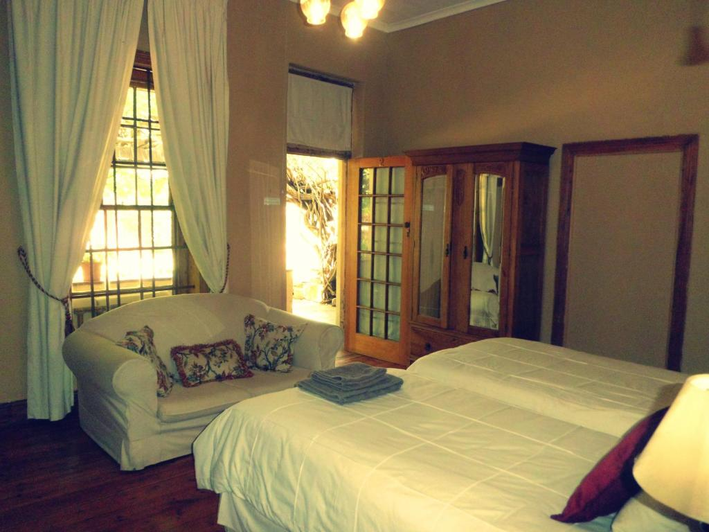 Giường trong phòng chung tại Top House Bed and Breakfast