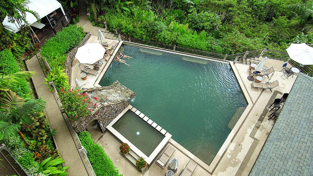 A bird's-eye view of Tulemar Resort