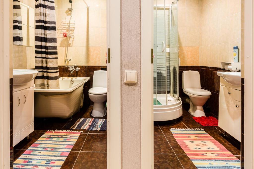 Ванная комната в Хостел Чей Чемодан