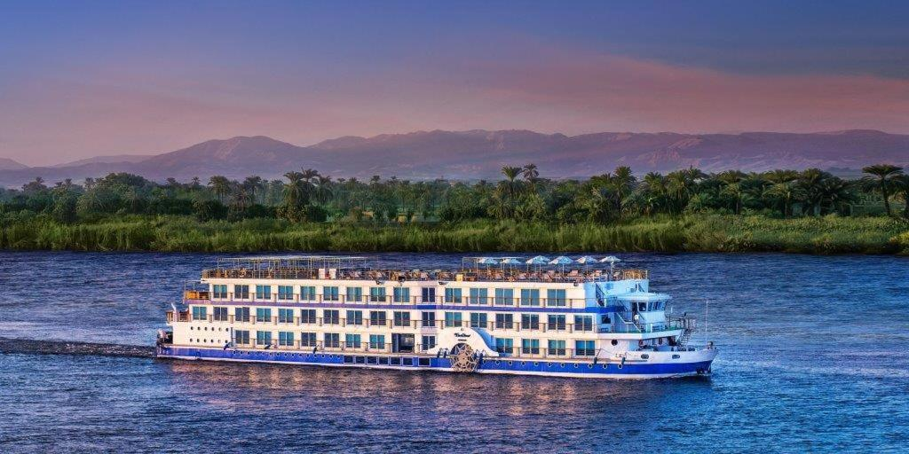 A bird's-eye view of The Oberoi Philae Nile Cruise - 6 nights and 4 nights