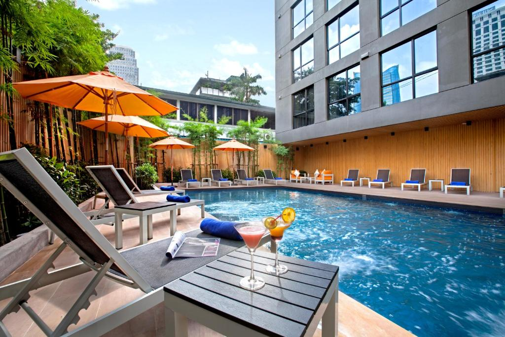 The swimming pool at or near Galleria 12 Sukhumvit Bangkok by Compass Hospitality