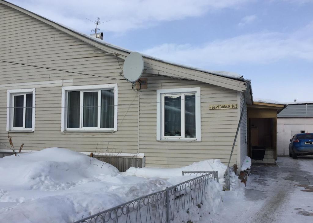 Гостевой Дом Березовый зимой