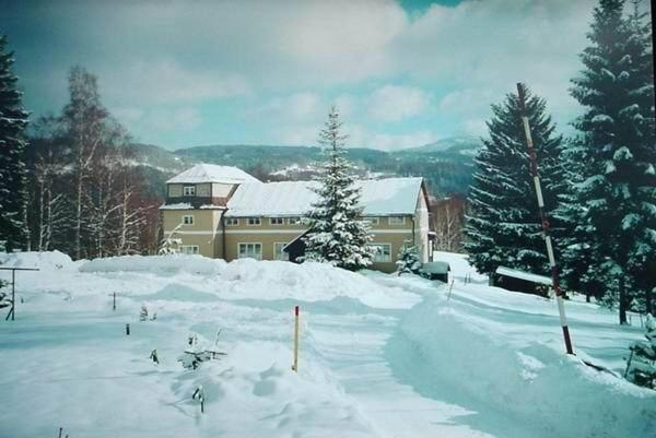 Pension Panorama v zimě