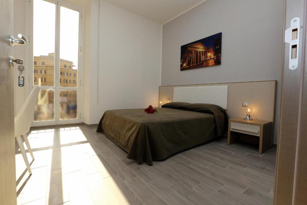 Cama o camas de una habitación en Casa Martinez