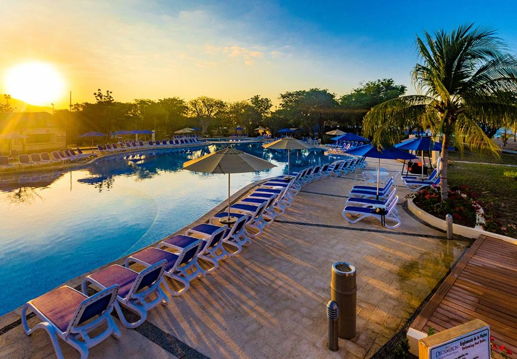 The swimming pool at or near Royal Decameron Indigo - All Inclusive
