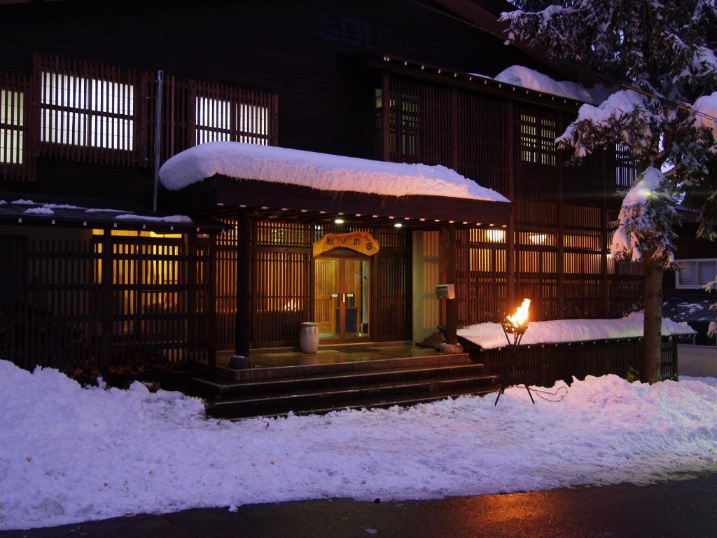 Matsunoki-tei during the winter
