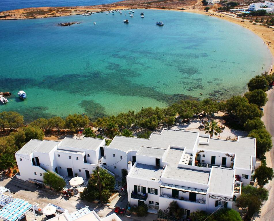A bird's-eye view of Kalypso Hotel