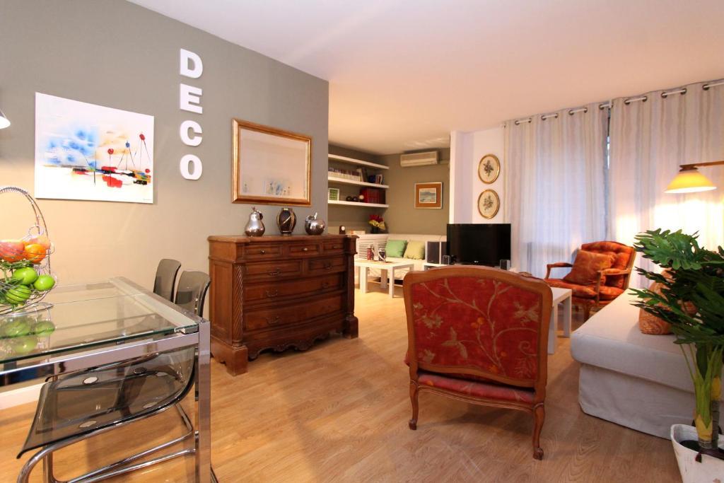 Vestibiulis arba registratūra apgyvendinimo įstaigoje Apartamento Tosca Deco