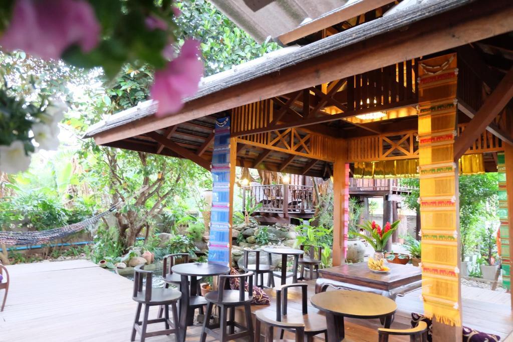 Restaurant ou autre lieu de restauration dans l'établissement Kittawan Home&Gallery