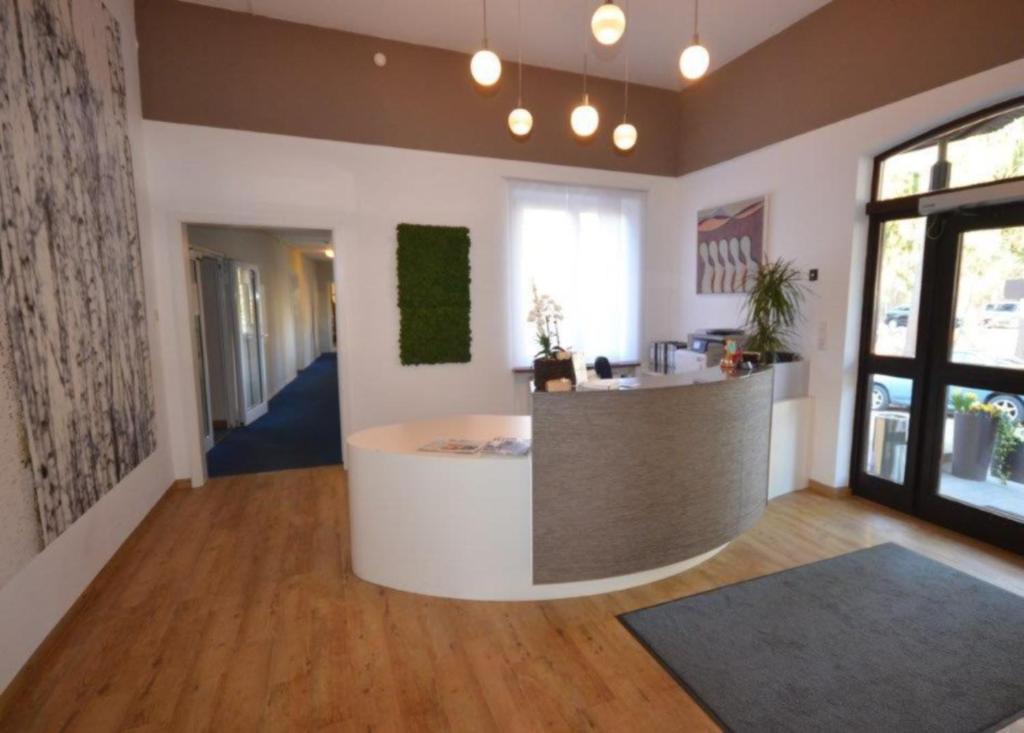 Lobby/Rezeption in der Unterkunft Hotel Restaurant Anders