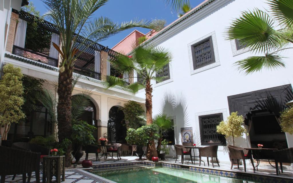 The building in which the riad is located