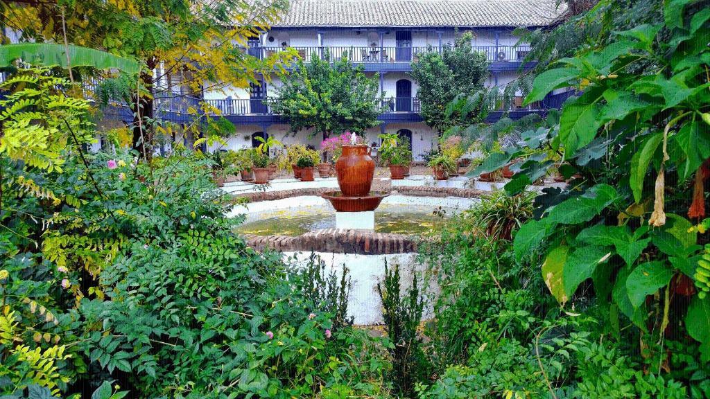 Jardín al aire libre en Corral del Conde