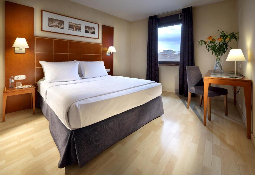 Cama o camas de una habitación en Exe Vienna