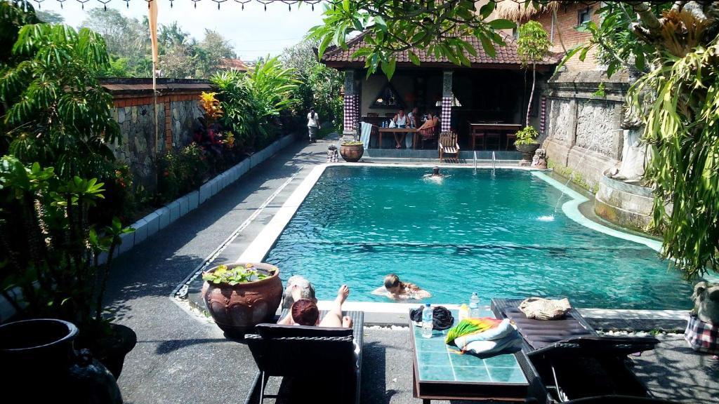 The swimming pool at or near Jalan Jalan Villas & Spa